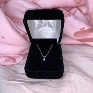 Jewelry - REAL .25 CARAT DIAMOND NECKLACE